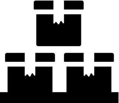 Logistics box icon