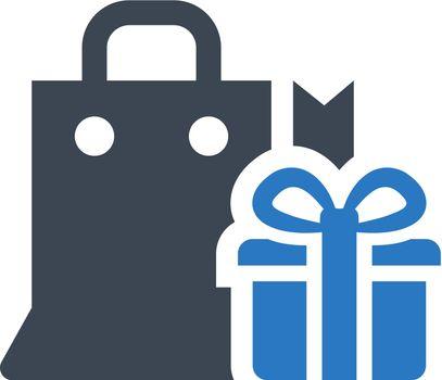 Christmas buy icon