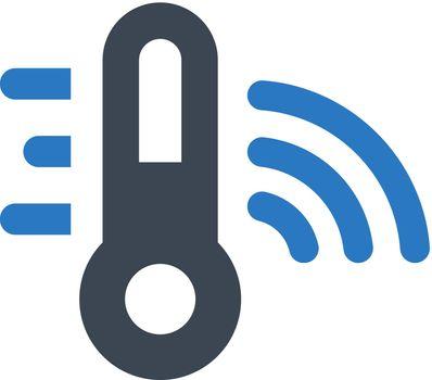 Temperature signal icon