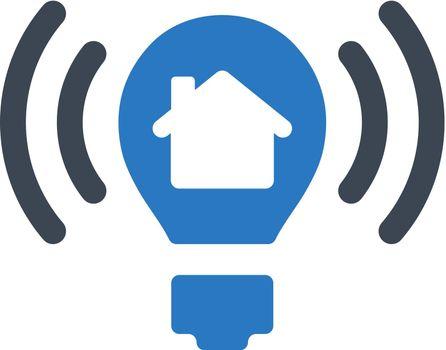 Smart light control icon