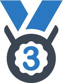 Third medal icon