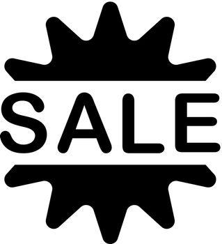 Sale badge icon
