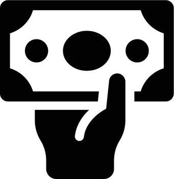 Cash payment icon