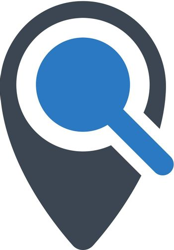 Search for place icon