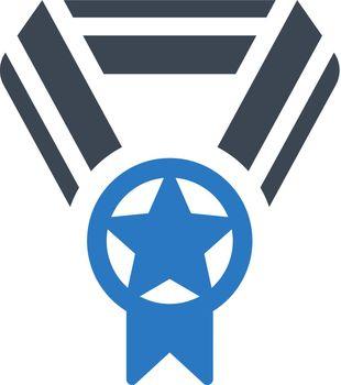 Champion medal icon
