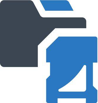 Save to folder icon