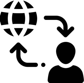 Users flow icon