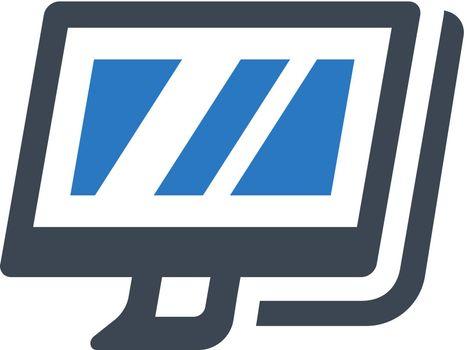 Display screen icon