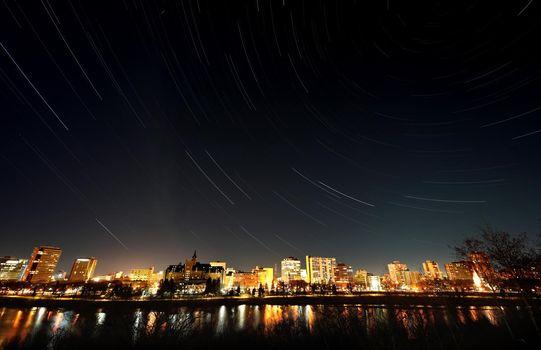 Night Shot Saskatoon