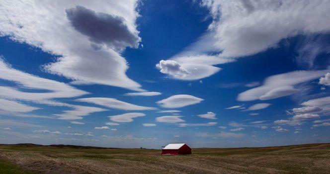 Lenticular Clouds Saskatchewan