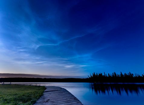 Night Photography Waskesiu Canada