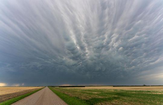 Prairie Storm Clouds mammatus