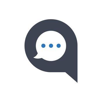 Conversation speech icon
