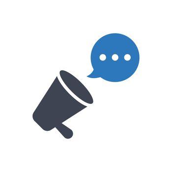 Marketing Promoting icon