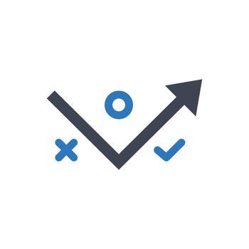 Strategy plan icon