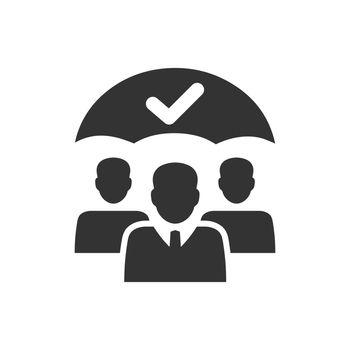 Employee security icon