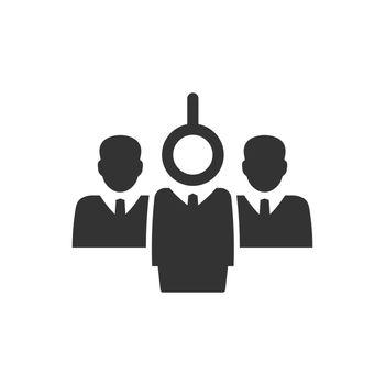 Hiring employee icon