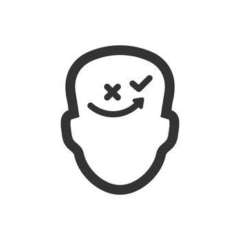Thinking tactics icon