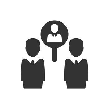 Employee recruitment icon