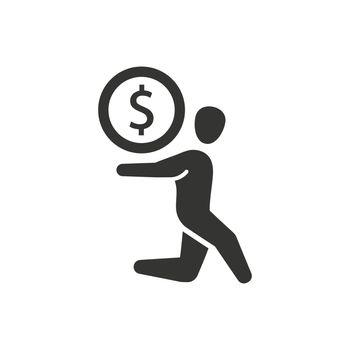 Bankruptcy, Debt Icon
