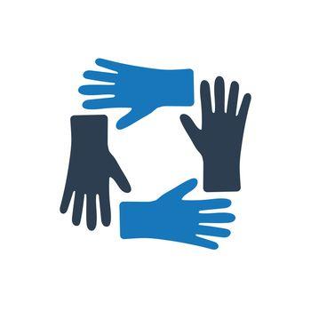 Teamwork Unity Icon