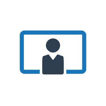 Teaching, training icon