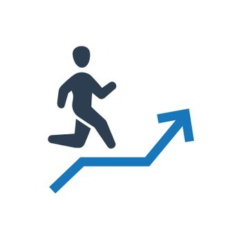 Career Stairs Icon