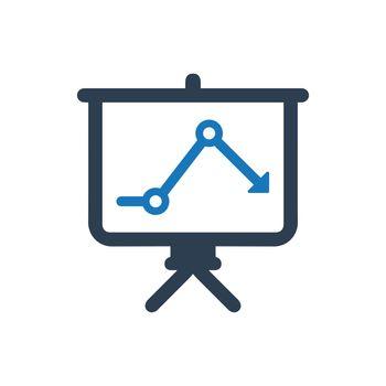 Business Analysis Presentation Icon