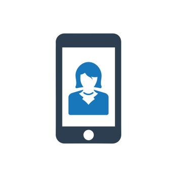 Mobile Business App Icon