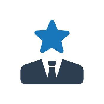 Star Businessman Icon
