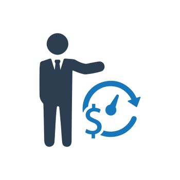 Business Budget Plan Icon