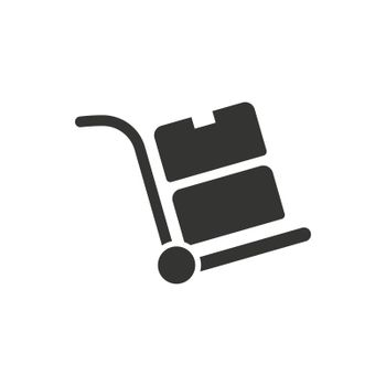 Hand Trolley Icon