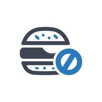 No fast food icon