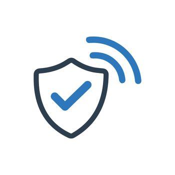 Wi-Fi Security Icon