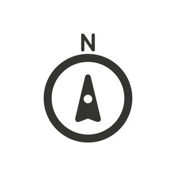 GPS Compass Icon