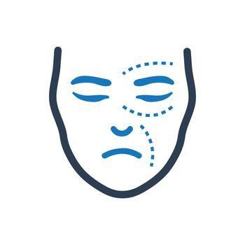 Facial Plastic Surgery Icon