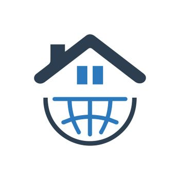 Global Real Estate Company Icon