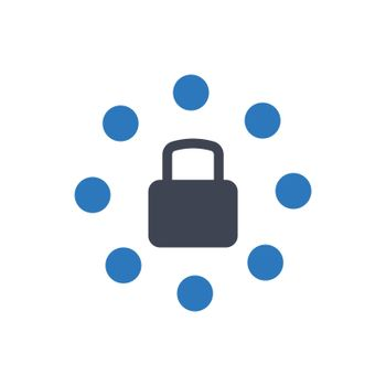 Security network icon