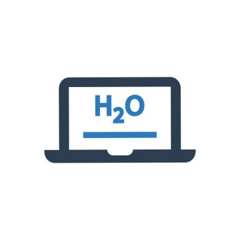 Online Chemistry Learning Icon