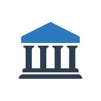 Bank, University Icon