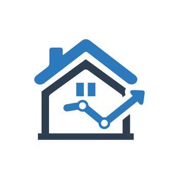 Real Estate Statistics Icon