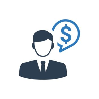 Financial Manager Icon