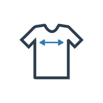 Shirt Sizing Icon