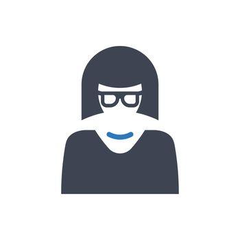 Female member icon