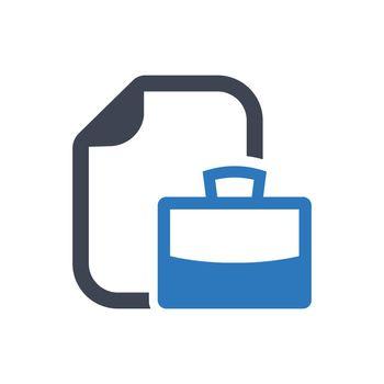 Job portfolio icon