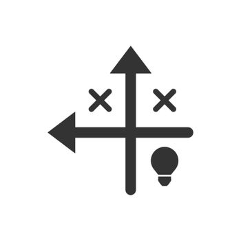 Tactical solution icon