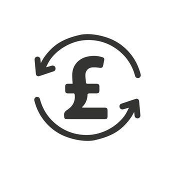 Pound Transaction Icon