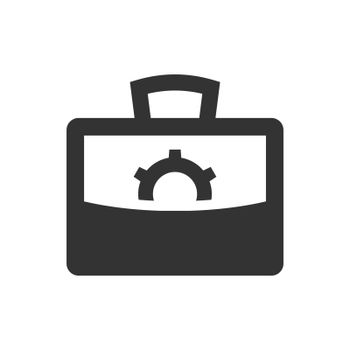 Business management plan icon