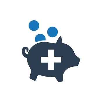 Medical Savings Icon