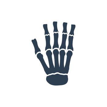 Hand Skeleton Icon